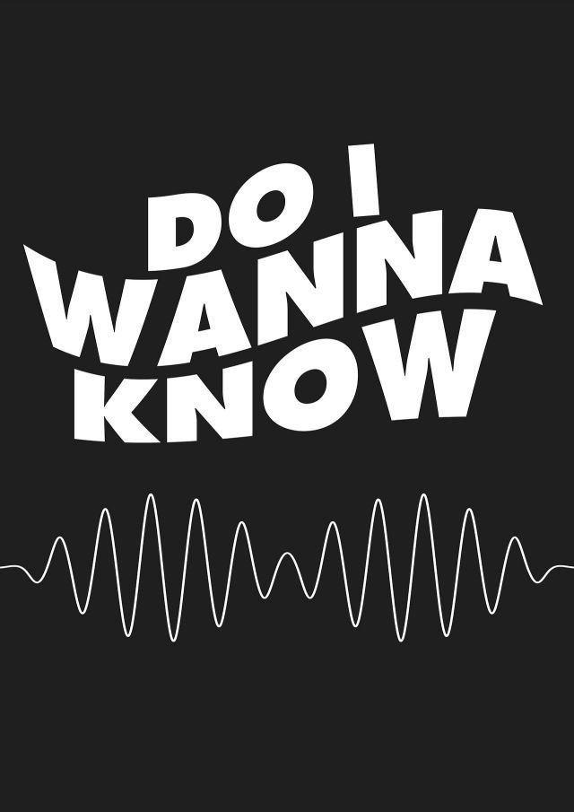 arctic monkeys do i wanna know lyrics collection of